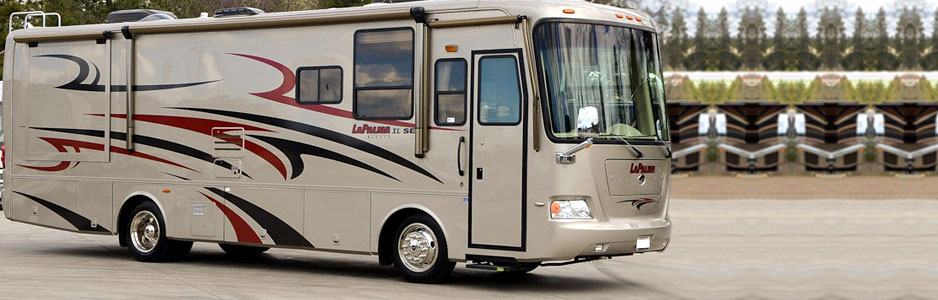 Southern RV Hire vehicle exterior