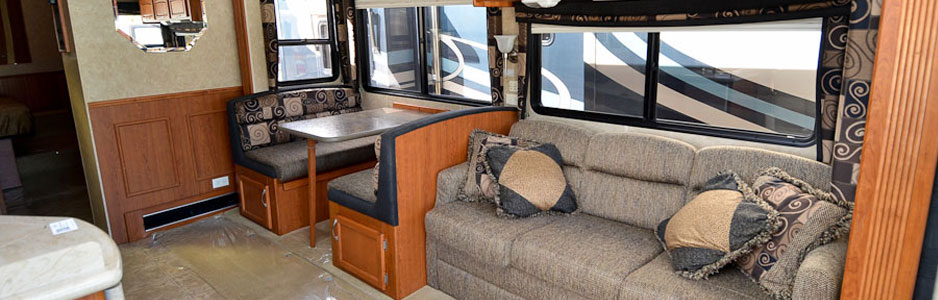 Southern RV vehicle living area